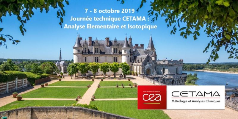 7-8 oct 2019 – Journée Technique CETAMA